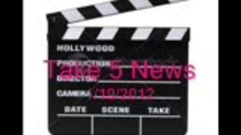 Thumbnail for entry Take 5 News 1.19.2012