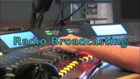Thumbnail for entry Radio Broadcasting Lesson - KSBJ 89.3 Houston