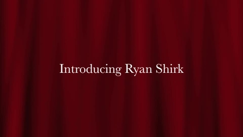 Thumbnail for entry Ryan Shirk Ted Talk