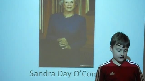 Thumbnail for entry Sandra Day O'Connor