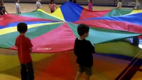 Thumbnail for entry Gym - Parachute JK