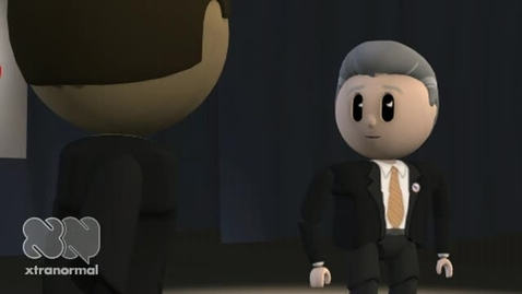 Thumbnail for entry Xtranormal Presidential Debate