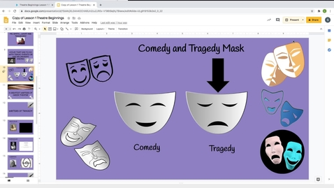 Thumbnail for entry Theatre Beginnings Lesson 1 Pt2