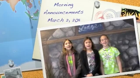 Thumbnail for entry DCES Morning Announcements