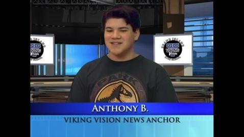 Thumbnail for entry Viking Vision News Thurs 5-9-2019 #555