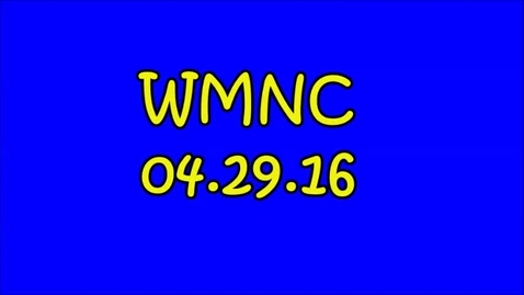 Thumbnail for entry WMNC 04.29.16