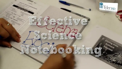 Thumbnail for entry Science Notebooking
