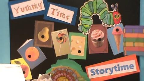 Thumbnail for entry Yummytime Storytime: Ms Bronoel