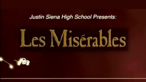 Thumbnail for entry Justin-Siena Les Mis Documentary