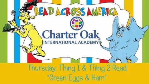 Thumbnail for entry Read Across America Week: Green Eggs & Ham/Huevos Verdes con Jamón