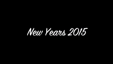 Thumbnail for entry New Years 2015