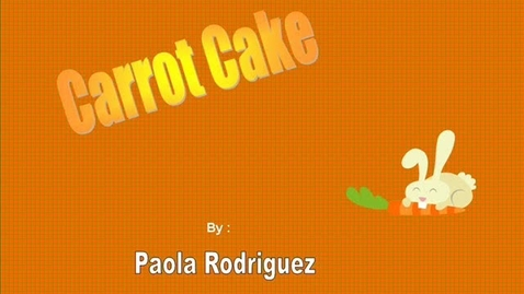 Thumbnail for entry  Paola's Carrot Cake
