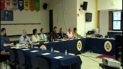 Thumbnail for entry Wayne Central Board of Education Meeting 4/10/2014