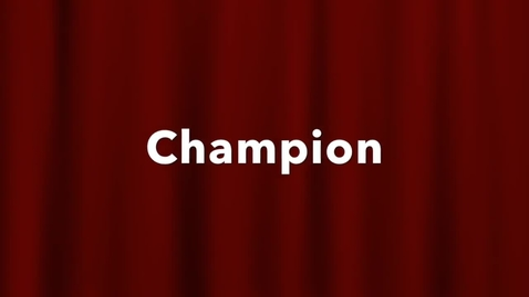 Thumbnail for entry Champion