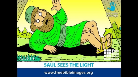 Thumbnail for entry Saul Sees the Light