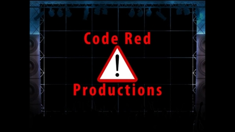 Thumbnail for entry Code Red Productions Logo