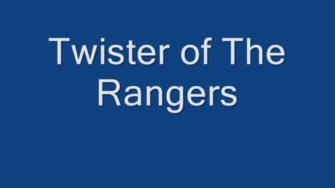 Thumbnail for entry Twister of the Rangers