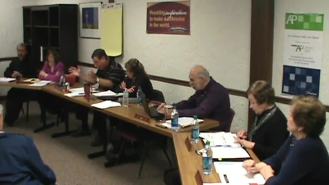 Thumbnail for entry BOE Meeting, 3/29/14 - Part 3
