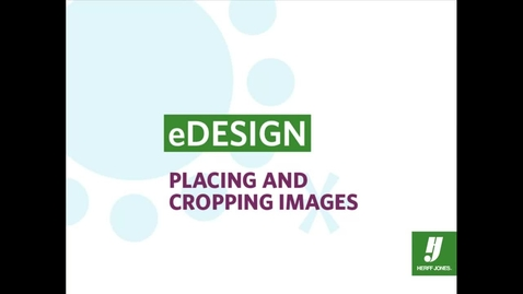 Thumbnail for entry eDesign Quick Tours: Cropping Images
