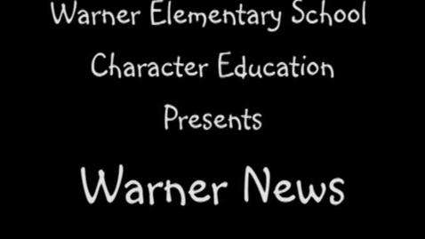 Thumbnail for entry Warner News- DCAS Test Taking Tips