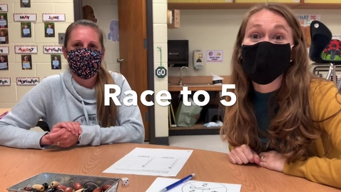 Thumbnail for entry Race to 5 or 10 Math Game
