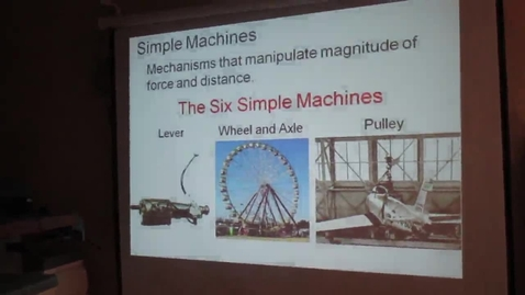 Thumbnail for entry Simple Machines (1 of 5)