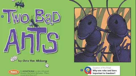 Thumbnail for entry Two Bad Ants