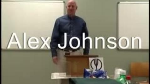 Thumbnail for entry Toastmaster speech #1: Alex Johnson icebreaker
