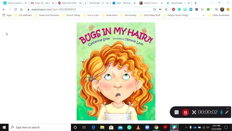 Thumbnail for entry Bugs in my Hair Read Aloud