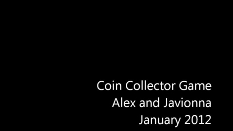 Thumbnail for entry Coin Collector - Javionna and Alex