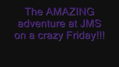 Thumbnail for entry The Amazing Friday