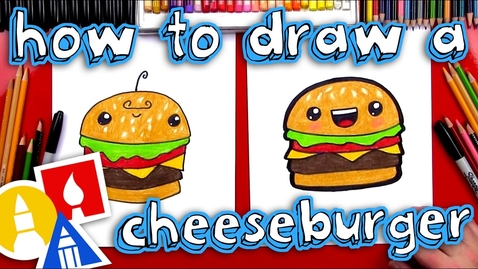 Thumbnail for entry How To Draw A Funny Cheeseburger