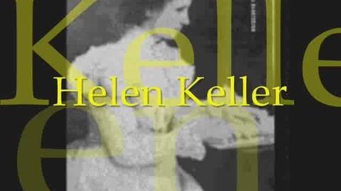 Thumbnail for entry Hellen Keller