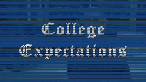 Thumbnail for entry College Expectations