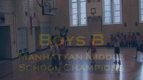 Thumbnail for entry Boys B Manhattan Champions