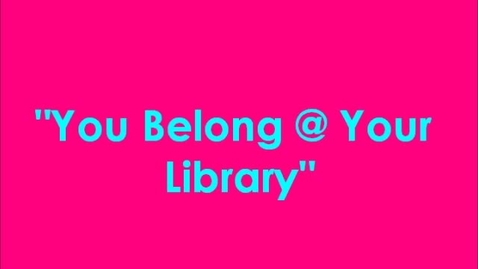 Thumbnail for entry Why We Belong in Our Lady of Lourdes Library