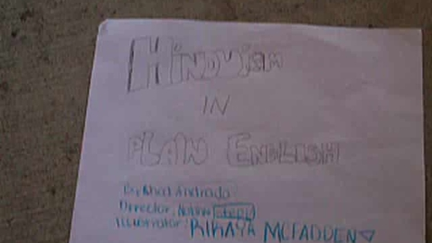 Thumbnail for entry Hinduism in Plain English