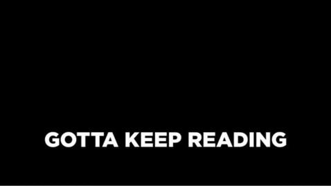 Thumbnail for entry Gotta Keep Reading - Ocoee Middle School