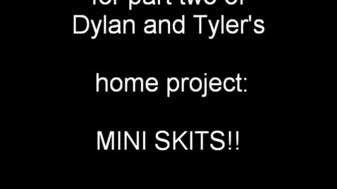 Thumbnail for entry Tyler & Dylan Home Project 1