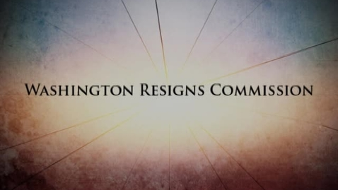 Thumbnail for entry Fractured Union: Chapter 1 -- Washington Resigns Commission