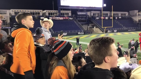 Thumbnail for entry Reaction: MHS football team wins state championship