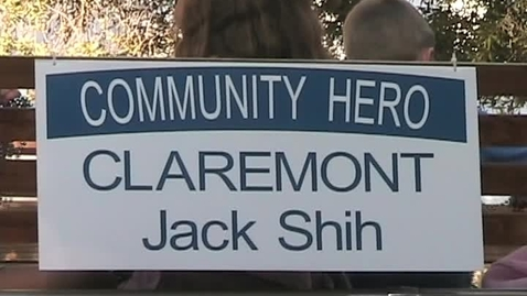 Thumbnail for entry Claremont's Community Hero