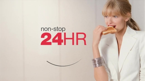 Thumbnail for entry Maybelline New York - New Super Stay 24 lipstick - TV Commercial