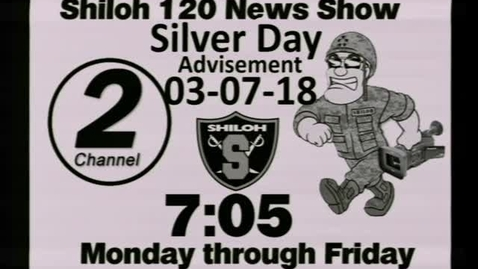 Thumbnail for entry 03-07-18 Shiloh High School News