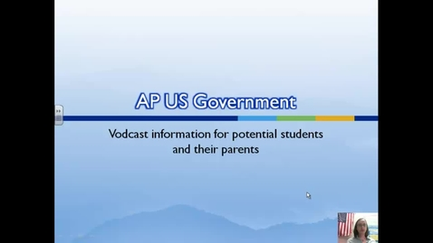Thumbnail for entry AP US Government