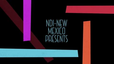 Thumbnail for entry NDI-New Mexico Week 2! 2014