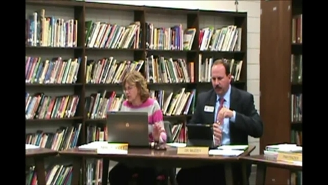 Thumbnail for entry 12-13-2012 Board Meeting