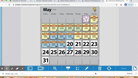 Thumbnail for entry May 20 Calendar