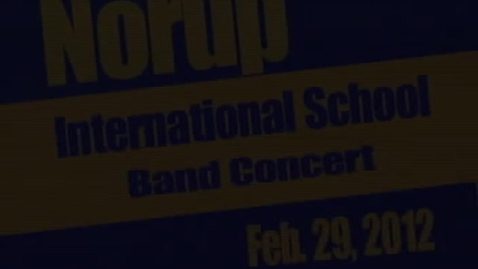 Thumbnail for entry NIS Band Pre-Festival Concert 2/29/12