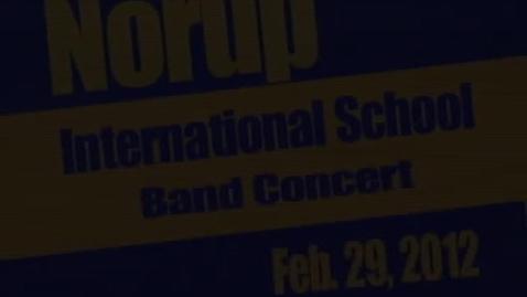 Thumbnail for entry NIS Band Pre-Festival Concert 2/29/12